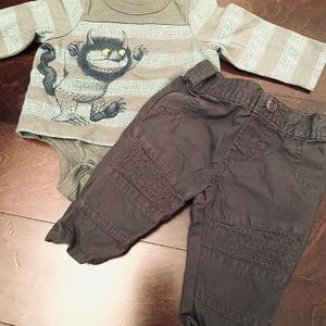 Baby outfit Where the Wild Things Are